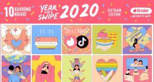 10 xu hướng phổ biến nhất trên Tinder trong năm 2020