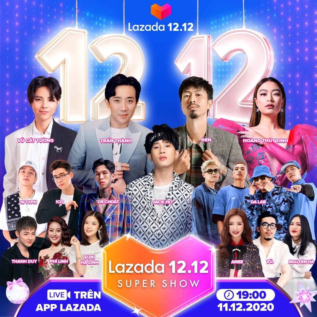 12 điểm nhấn nổi bật trong lễ hội mua sắm 12.12 trên Lazada