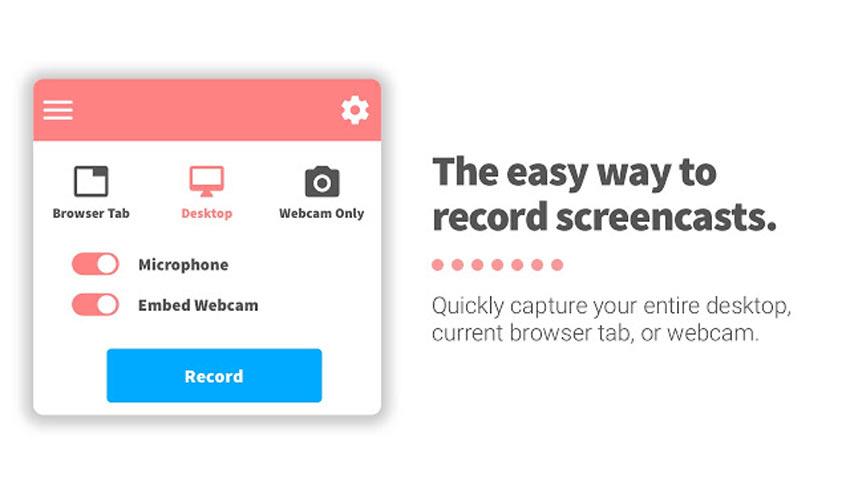 4 công cụ quay màn hình và webcam miễn phí và dễ sử dụng