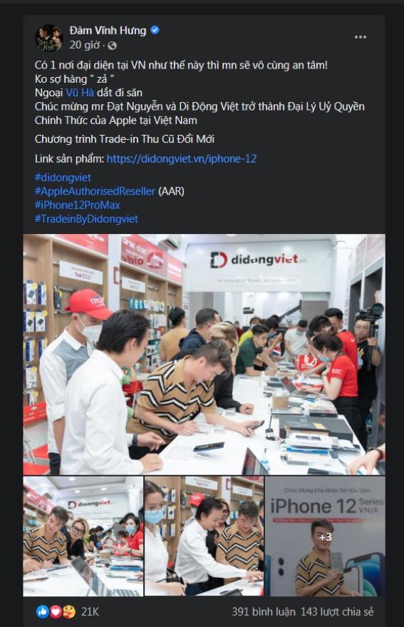 iPhone 12 Pro Max VN/A hai màu hot đã có nhiều hàng