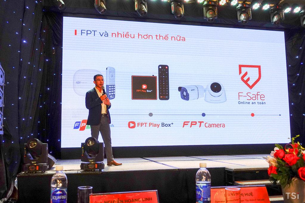 FPT Telecom ra mắt F-Safe giải pháp bảo mật tích hợp vào modem