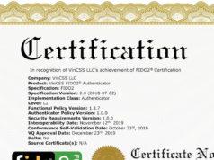 Khóa xác thực VinCSS FIDO2 Fingerprint ra mắt thị trường năm 2021