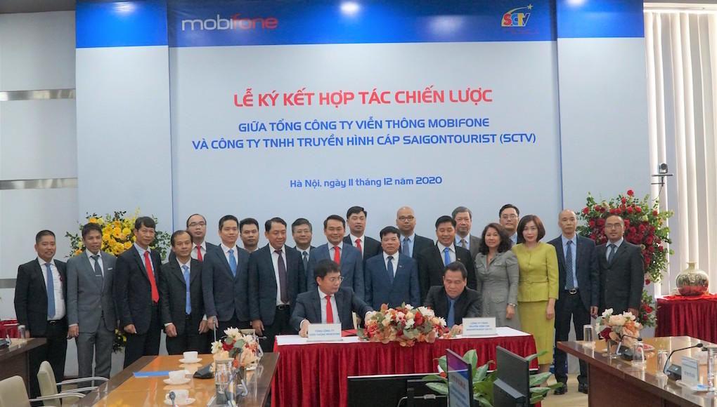 MobiFone ký hợp tác toàn diện với SCTV