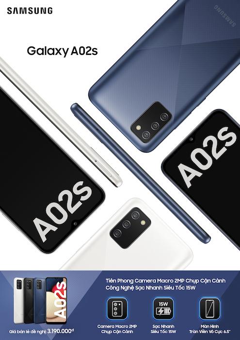 Samsung ra mắt Galaxy A12 và Galaxy A02s