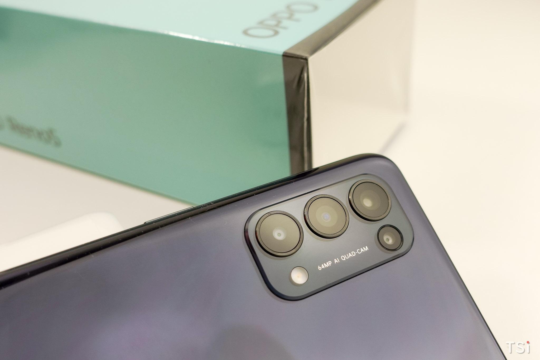 Mở hộp OPPO Reno5: mỏng, pin lớn, sạc nhanh, cụm camera ấn tượng