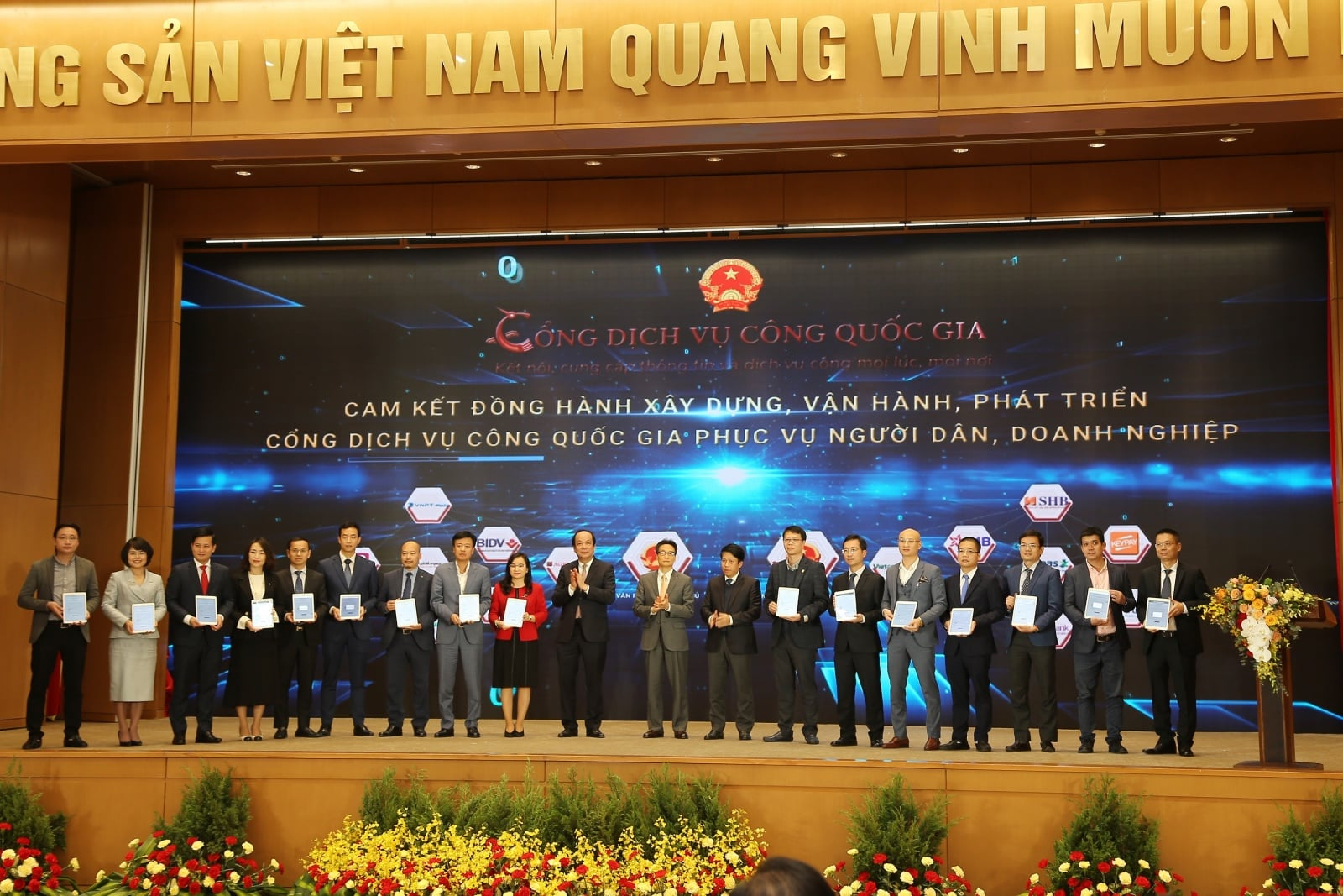 Ví MoMo nhận bằng khen của Chính Phủ vì những đóng góp tích cực cho sự phát triển của Cổng Dịch Vụ Công Quốc gia