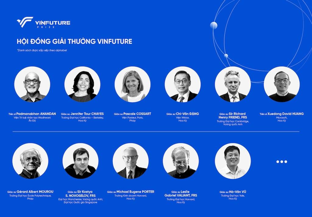 Vingroup công bố ra mắt giải thưởng toàn cầu VinFuture