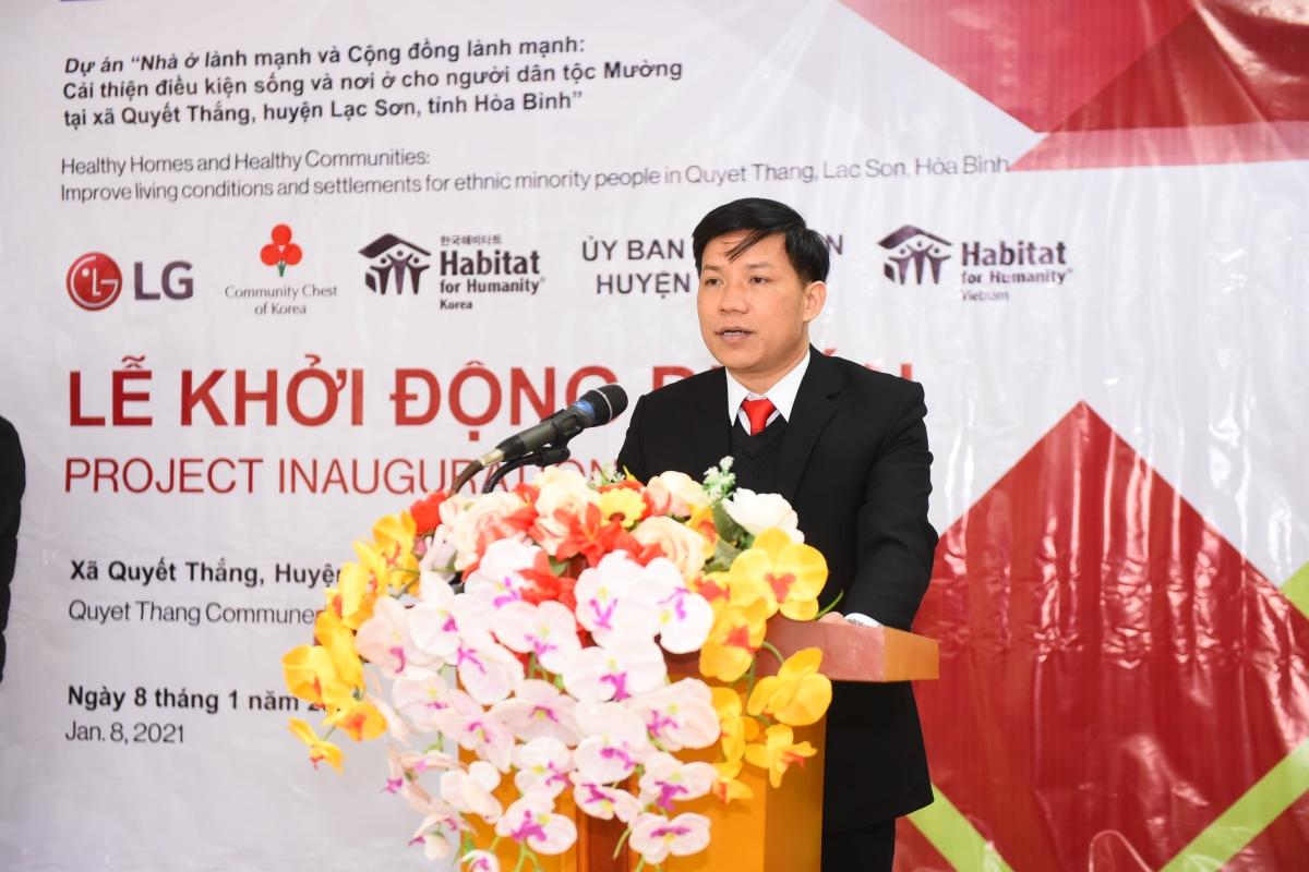 LG cùng Habitat for Humanity hỗ trợ các hộ gia đình dân tộc Mường