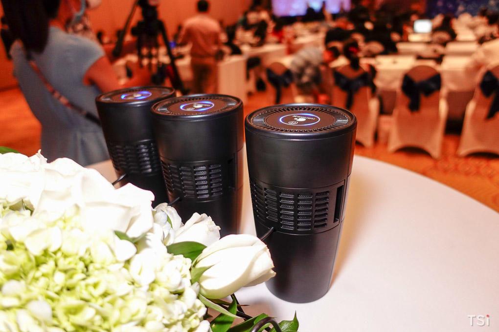 Panasonic hợp tác, trang bị máy lọc không khí nanoe X cho 2000 xe GrabCar