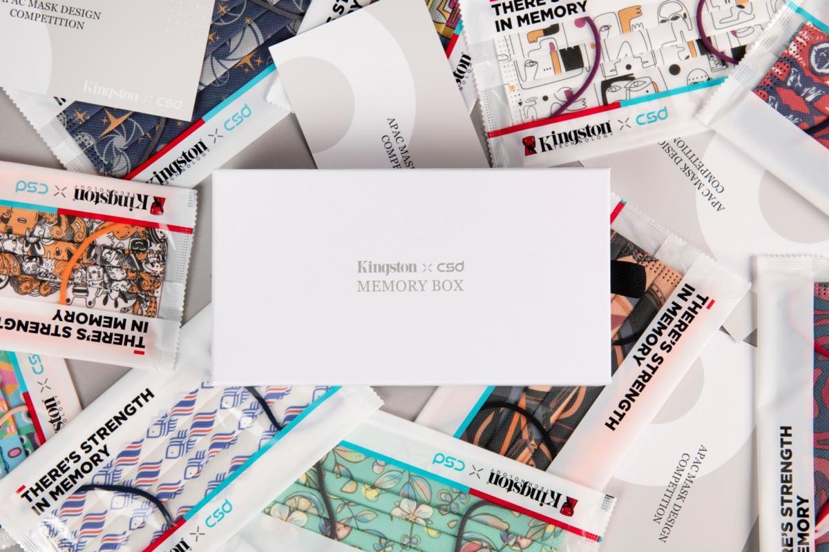 Top 10 thiết kế khẩu trang đầy cảm xúc của Kingston