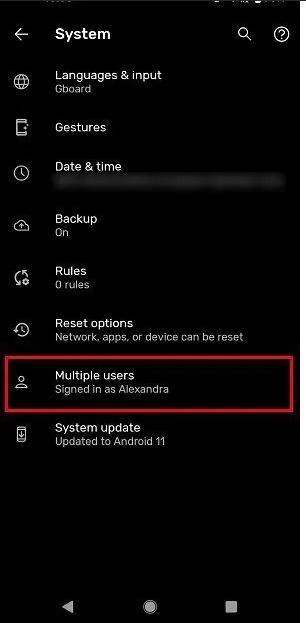 Cài chế độ khách trên Android để bảo mật dữ liệu cá nhân khi cho người khác mượn điện thoại