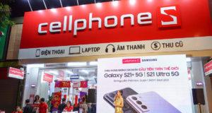 CellPhones mở bán Galaxy S21 Series đầu tiên trên thế giới