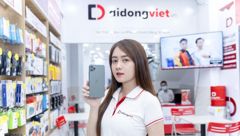 Di Động Việt khai trương cửa hàng mới, khuyến mãi sốc iPhone 12 VN/A