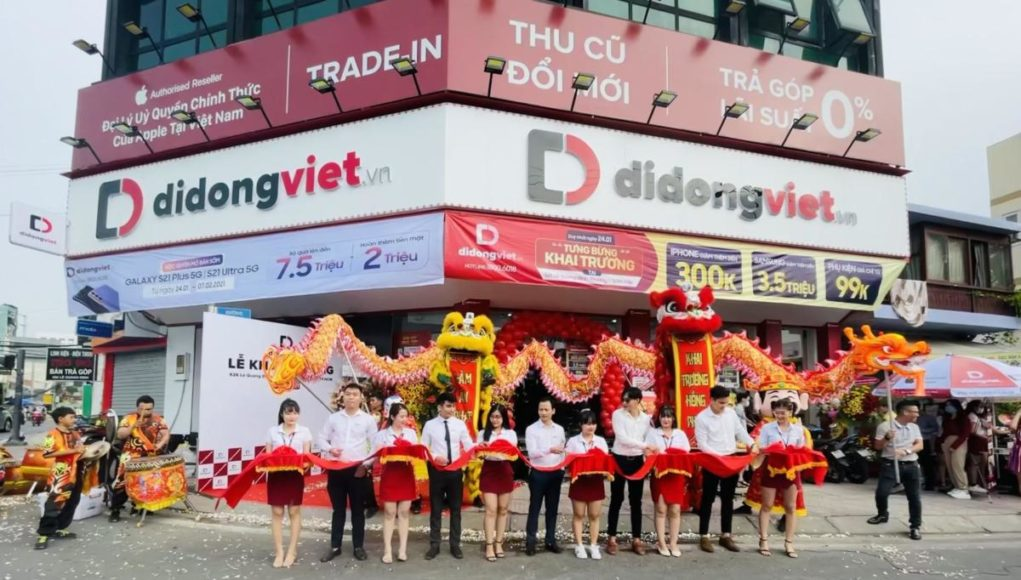 Di Động Việt khai trương cửa hàng mới tại Gò Vấp