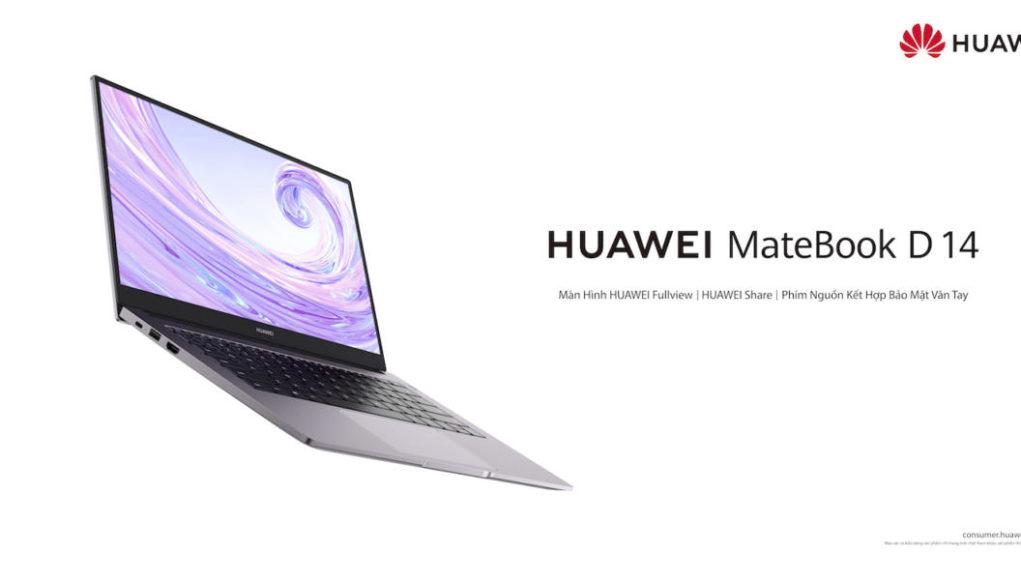 Huawei ra mắt MateBook D 14, giá 15,9 triệu đồng