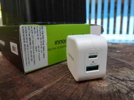 Củ sạc nhanh Innostyle Minigo Pro III 20W Dual Port PD Charger: quá gọn và tiện dụng