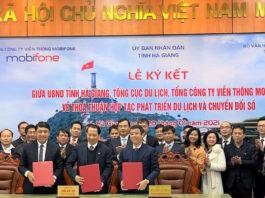 MobiFone, TCDL và Hà Giang hợp tác phát triển du lịch thông minh