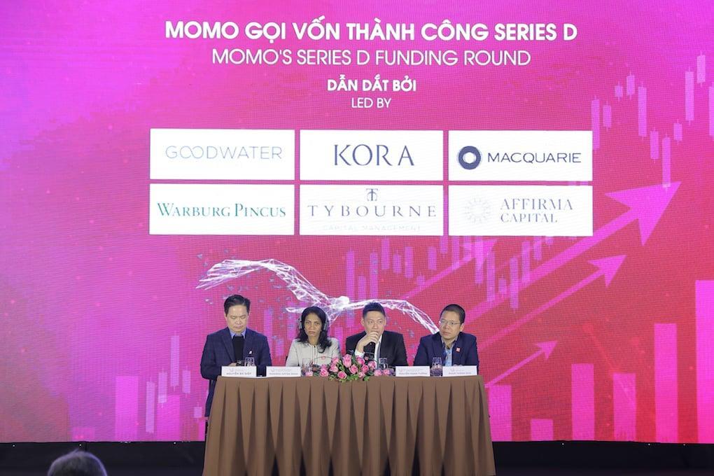 MoMo công bố hoàn thành vòng gọi vốn Series D