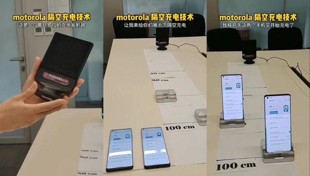 Sau Xiaomi, đến lượt Motorola công bố hệ thông sạc không dây từ xa