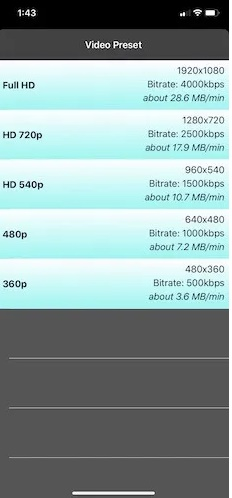 Cách nén video trên iPhone để tiết kiệm dung lượng