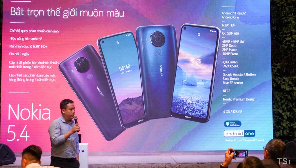 Nokia 5.4 ra mắt, tích hợp nhiều tính năng cao cấp với giá hợp lý