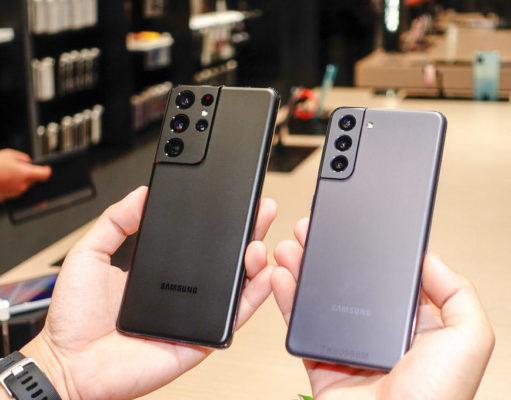 Hình ảnh thực tế Samsung Galaxy S21 và S21 Ultra 5G