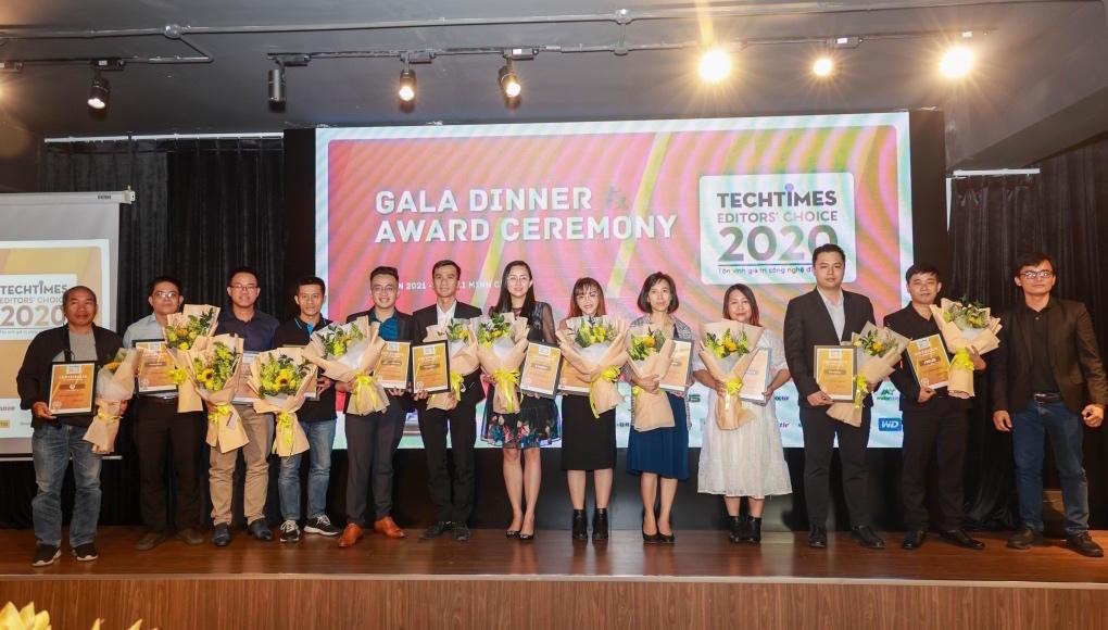 Những sản phẩm chiến thắng TechTimes Editors' Choice 2020