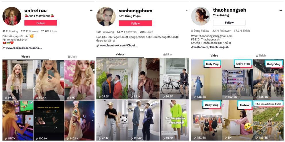 Top 10 nhà sáng tạo nội dung làm đẹp và thời trang trên TikTok năm 2020