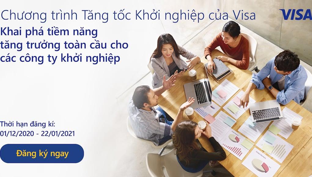 Visa hỗ trợ 6 startup Châu Á - Thái Bình Dương tham gia Chương trình Tăng tốc Khởi nghiệp