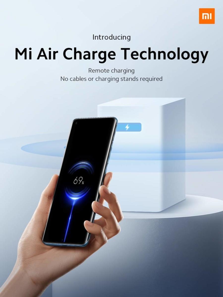 Xiaomi giới thiệu công nghệ Mi Air Charge, cho phép sạc từ xa không cần chạm