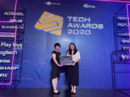 Máy giặt LG tiếp tục thắng lớn tại Số Hóa Tech Awards 2020