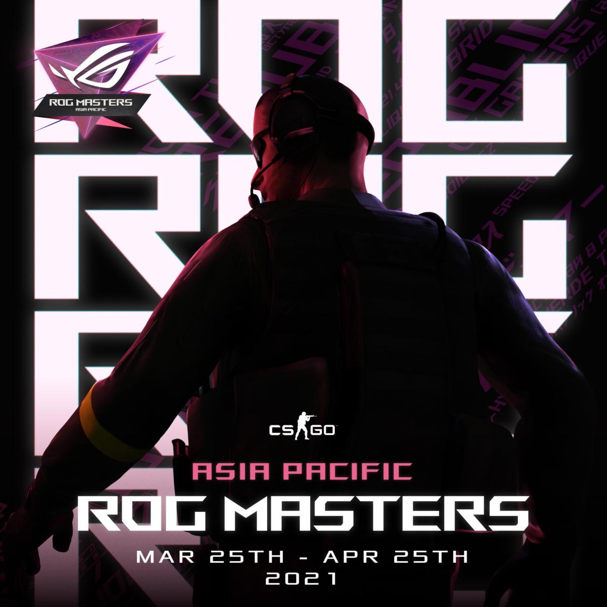 ASUS ROG mở đăng ký giải đấu CS:GO - ROG Masters APAC Edition