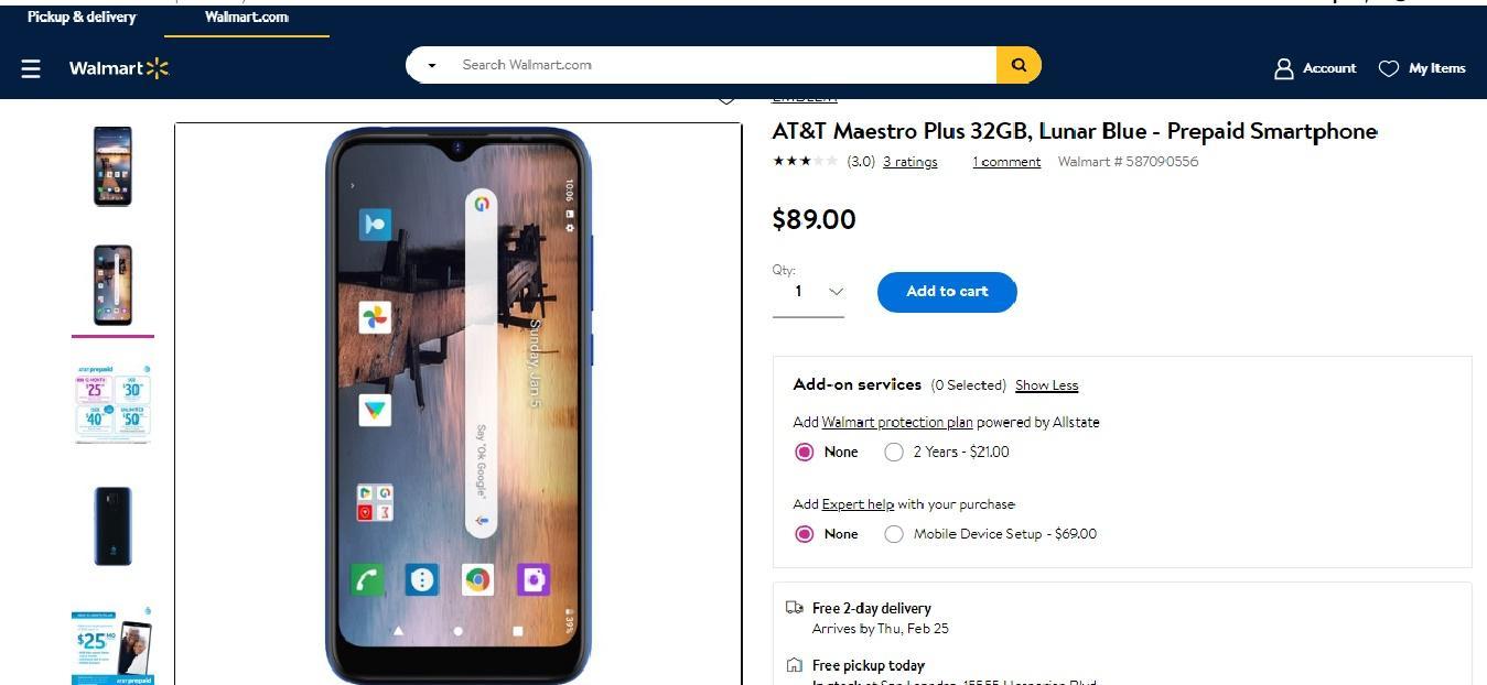 Điện thoại do VinSmart sản xuất được bán tại Mỹ với giá chỉ từ 39 USD