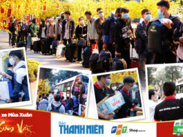 FPT Shop giúp hơn 2.000 sinh viên hoàn cảnh khó khăn về quê đón Tết