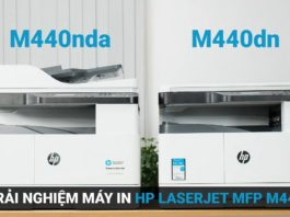 Ra mắt máy photocopy đa chức năng HP LaserJet MFP M440