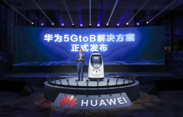 Huawei chính thức ra mắt giải pháp một cửa 5GtoB