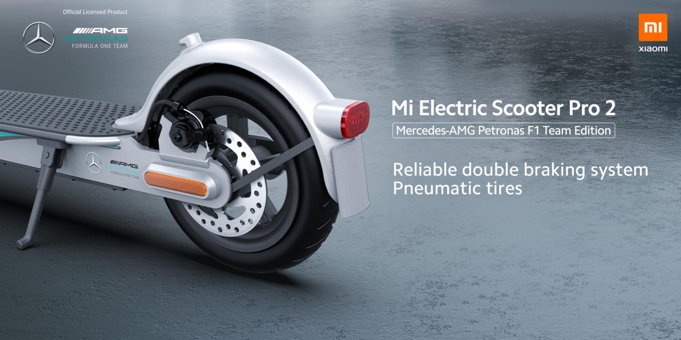 Mi Electric Scooter Pro 2 Mercedes-AMG Petronas F1 Team Edition