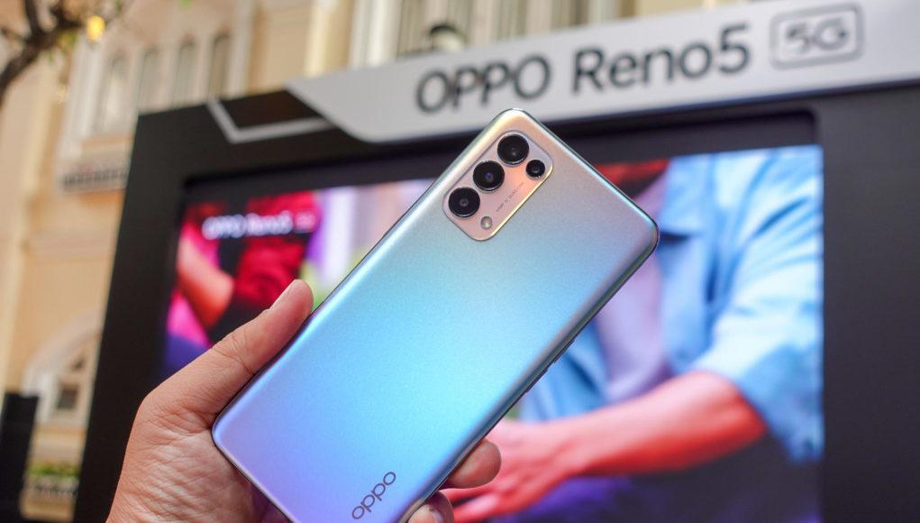 OPPO Reno5 5G bán từ hôm nay, giá 12 triệu đồng
