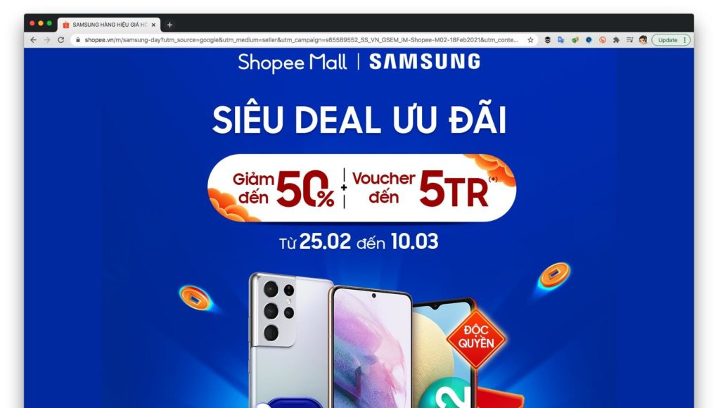 Samsung bán hơn 10.000 máy Galaxy M02 trên Shopee ngày đầu tiên
