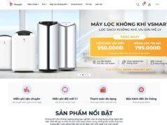 VinSmart bán máy lọc không khí và giải pháp nhà thông minh độc quyền trên vsmart online