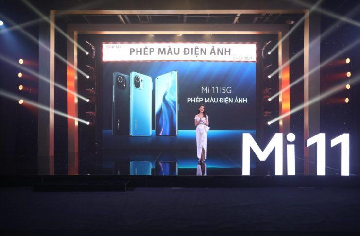 Xiaomi Mi 11 | 5G ra mắt, dùng Snapdragon 888, giá 22 triệu đồng