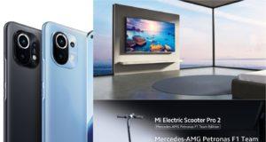 Xiaomi ra mắt flagship Mi 11, Mi TV Q1 và Electric Scooter Pro 2