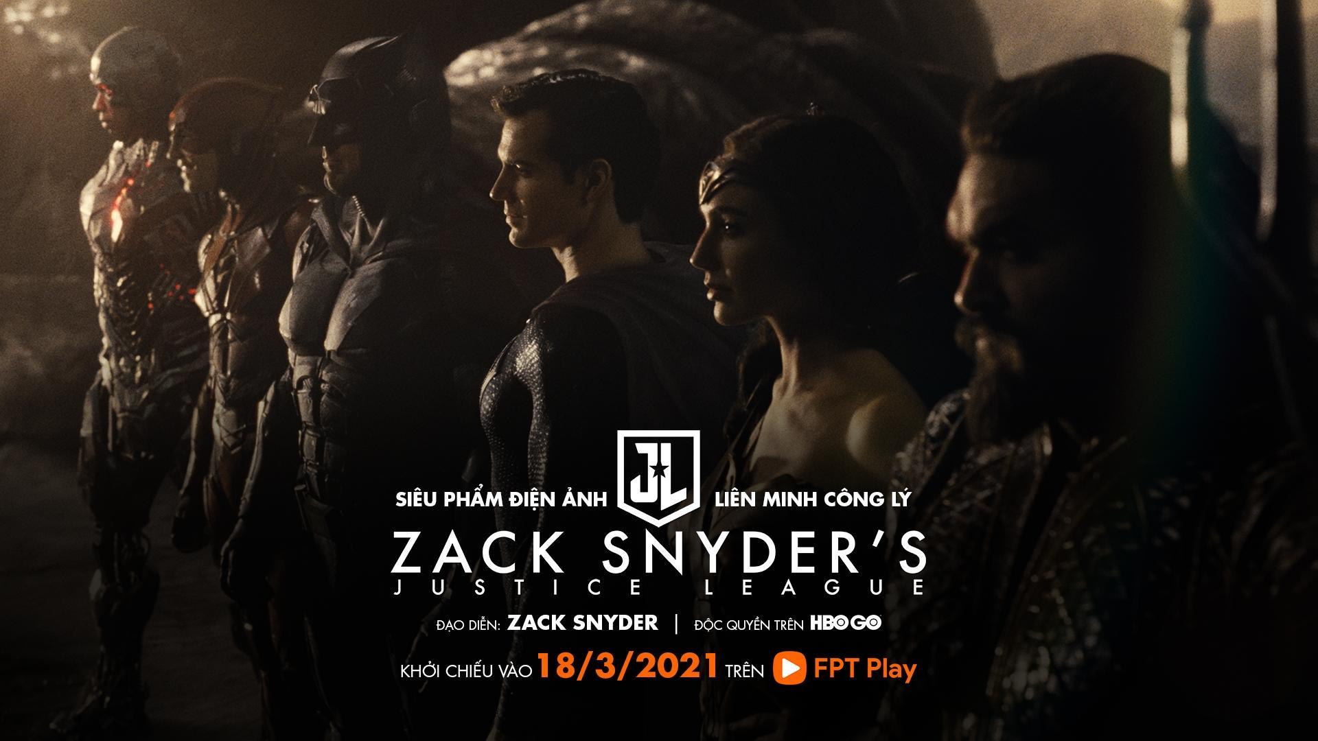 HBO Go trên FPT Play độc quyền công chiếu Justice League của Zack Snyder