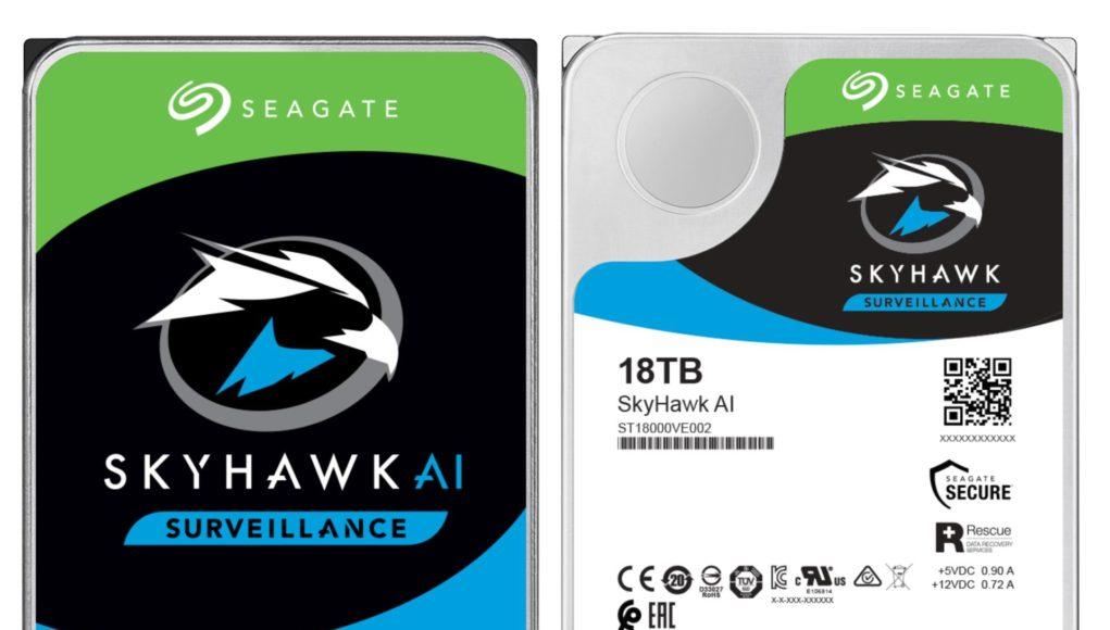 Ra mắt ổ cứng Seagate SkyHawk AI 18 TB cho hệ thống camera giám sát thông minh có hỗ trợ AI