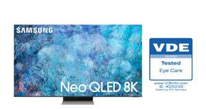 TV Samsung Neo QLED 2021 đạt chứng nhận 'bảo vệ mắt' từ VDE