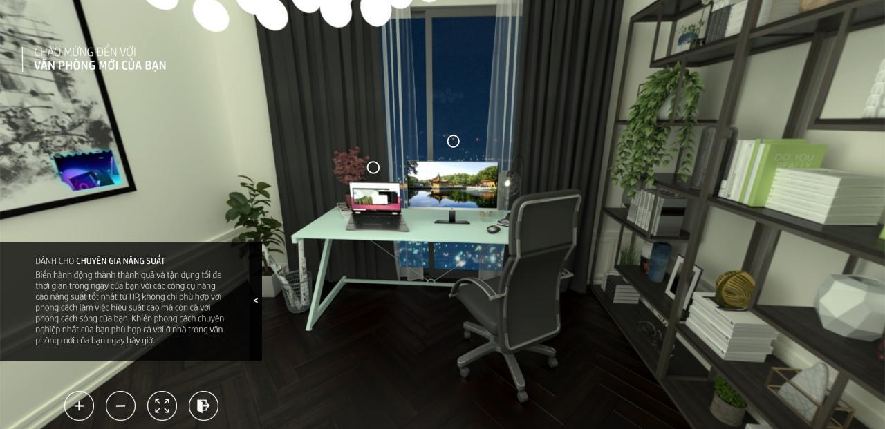 HP ra mắt phòng trưng bày thực tế ảo đầu tiên tại Việt Nam