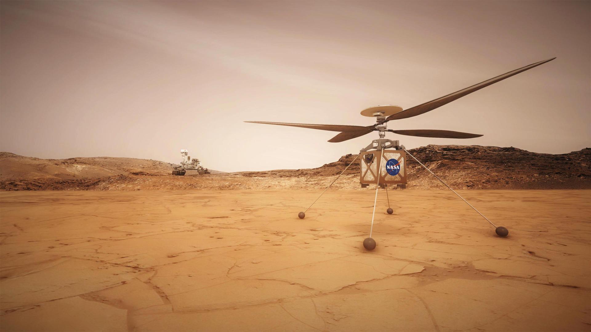 Qualcomm hợp tác cùng NASA phát triển trực thăng sao Hỏa