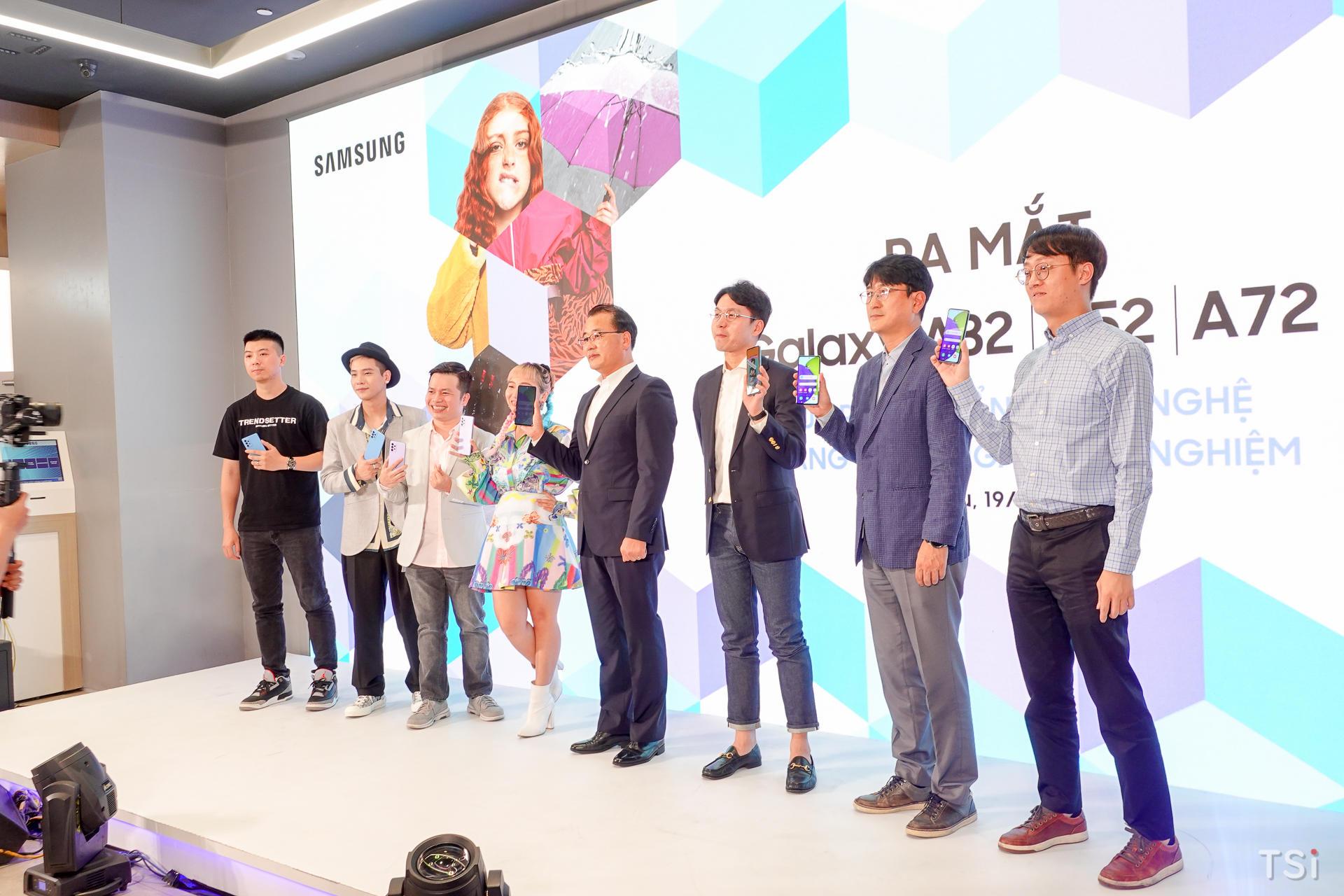 Samsung chính thức ra mắt Galaxy A52 | A72 tại Việt Nam