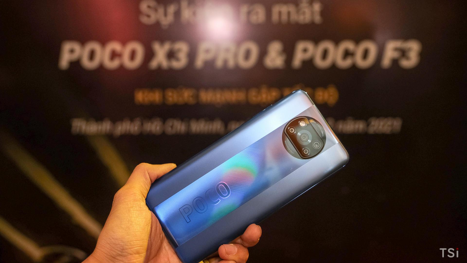 Poco F3 và Poco X3 Pro ra mắt với giá sốc, đặt hàng được ưu đãi tốt hơn