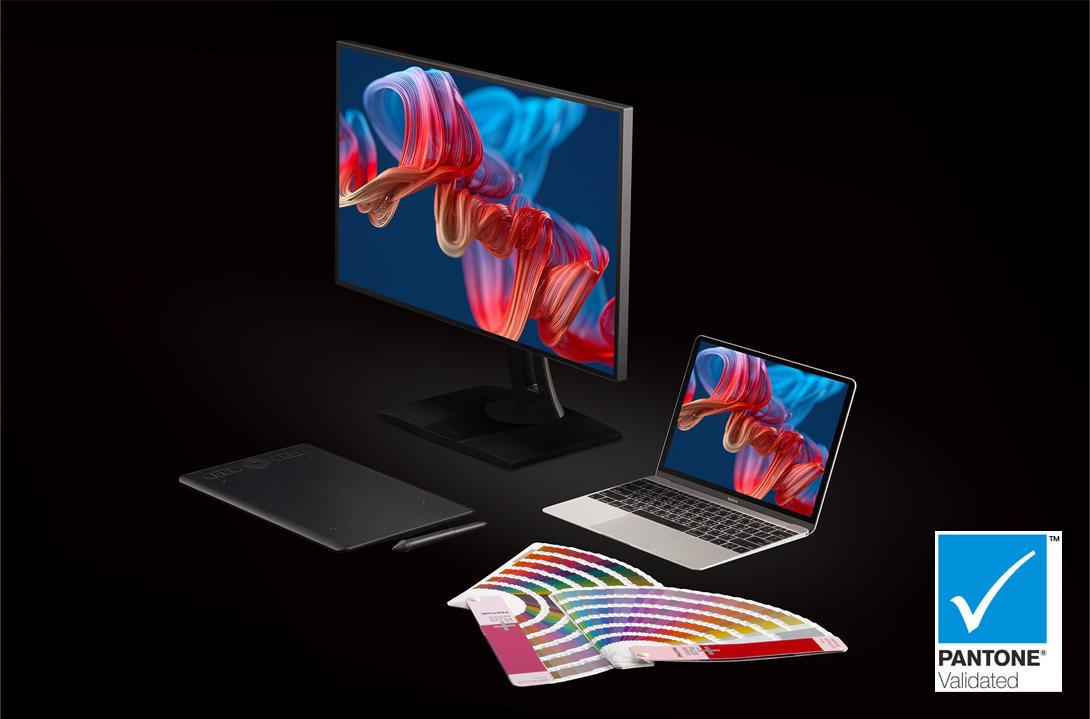 Ra mắt hai màn hình ViewSonic ColorPro VP2468a | VP2768a chuẩn Pantone Validated